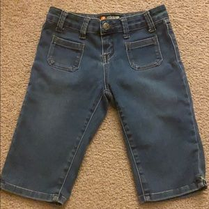 Scissor junior's denim shorts